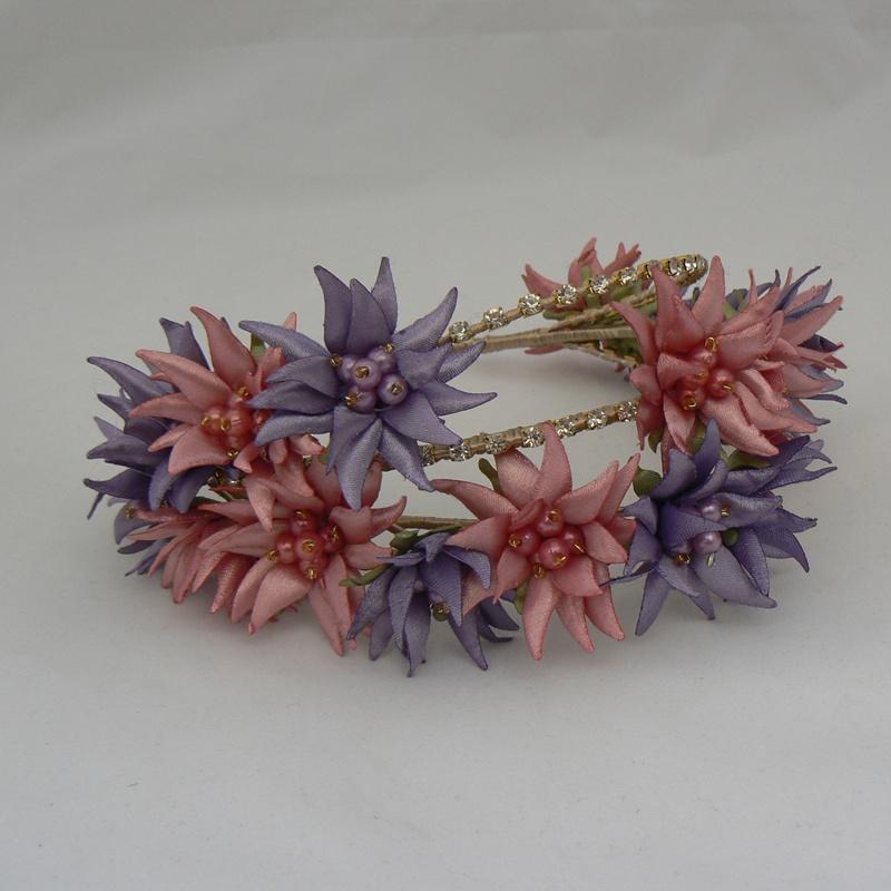 Tiara de flores #I27