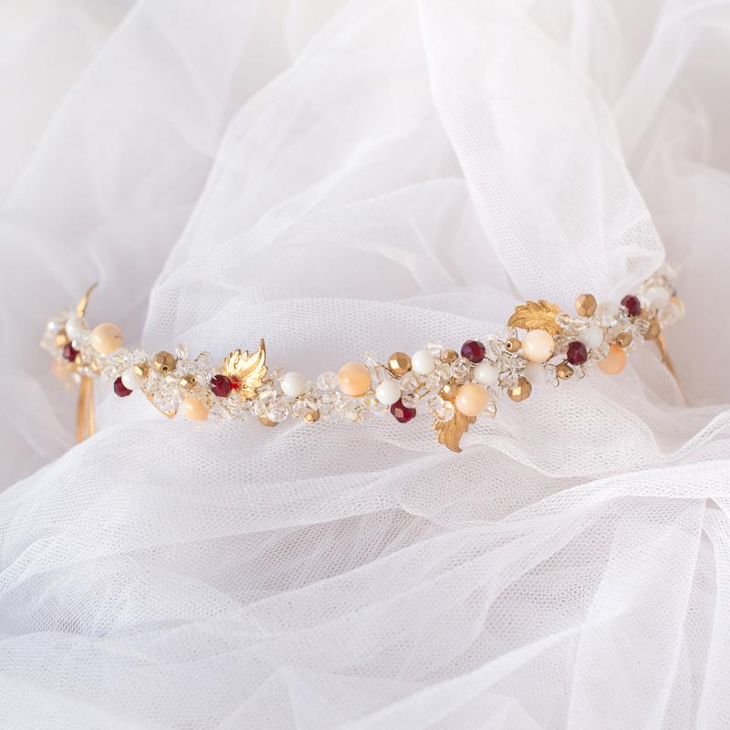 Tiara cristales #N95