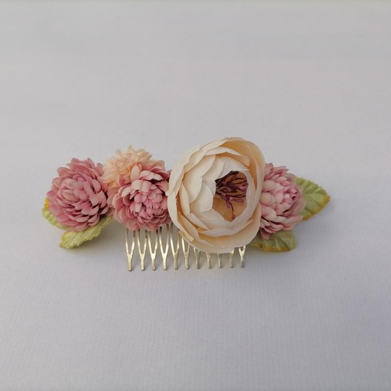 Tocado de flores #C10