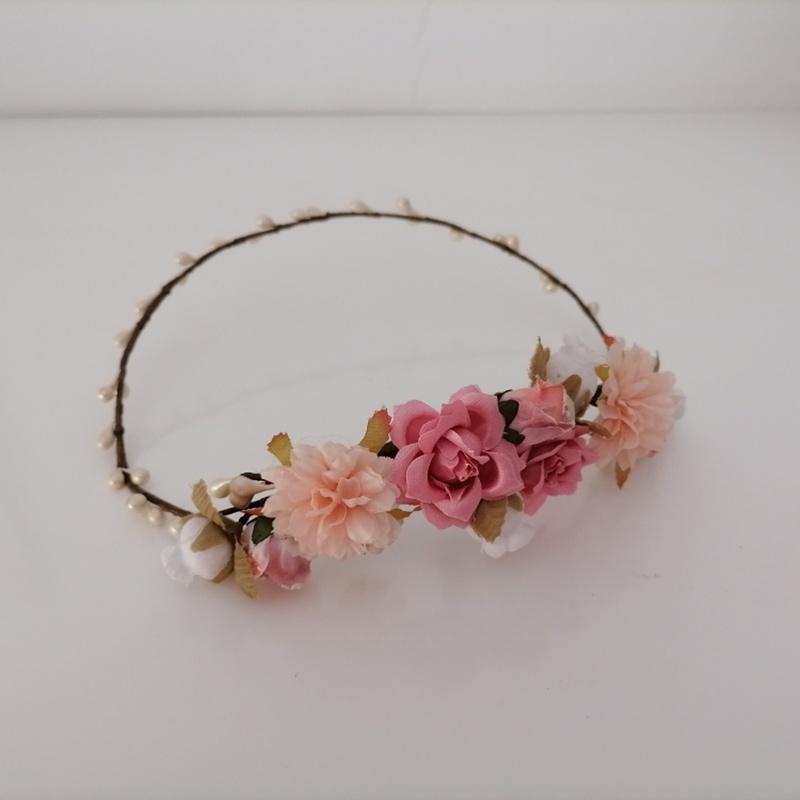 Corona de flores #C25